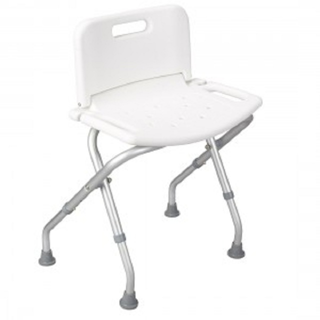 50500130- Foldable Shower Chair with Backboard