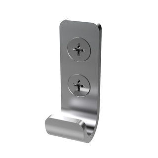 Cubilox Stainless Steel 316 Public Toilet Cubicle Hardware Coat Hook