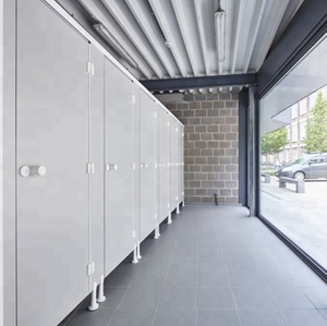 Cubilox HPL Toilet Partition New Design Toilet for Swimming Pool