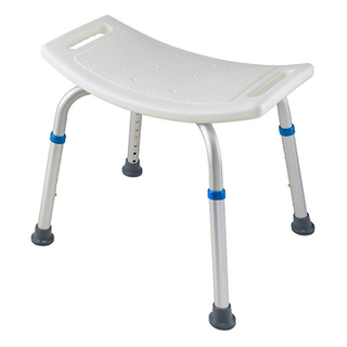 50500081- Healthcare Bathroom Adjustable Shower Stool